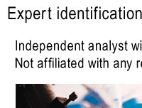 Expert Identifications by PhD microscoptist